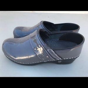 Sanita shoes ko1 gray size 39 8/9 us